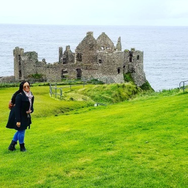 Giddy at Dunluce Castle #ironborn